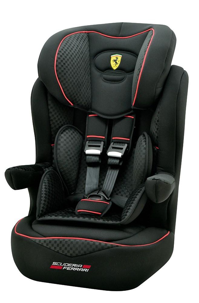 Silla Auto Grupo 1 2 3 I Max Sp Ferrari Black Casaytextil