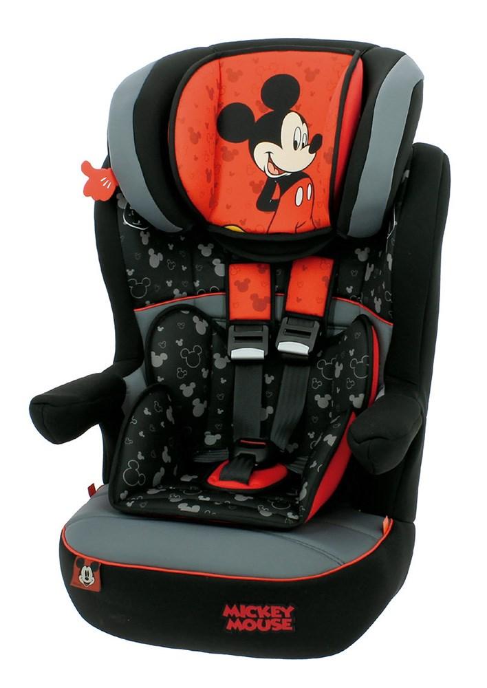 Silla Auto Grupo 1 2 3 I Max Sp Mickey Mouse Casaytextil