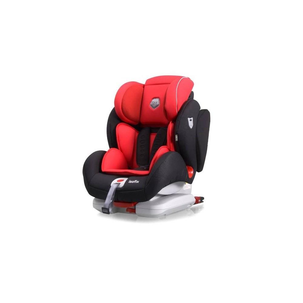 Silla Auto Grupo 1 2 3 Penta Fix Rojo Five Dot Casaytextil