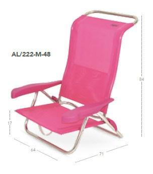 Silla cama plegable aluminio nytexline al 222 n crespo casaytextil - Hamacas crespo ...