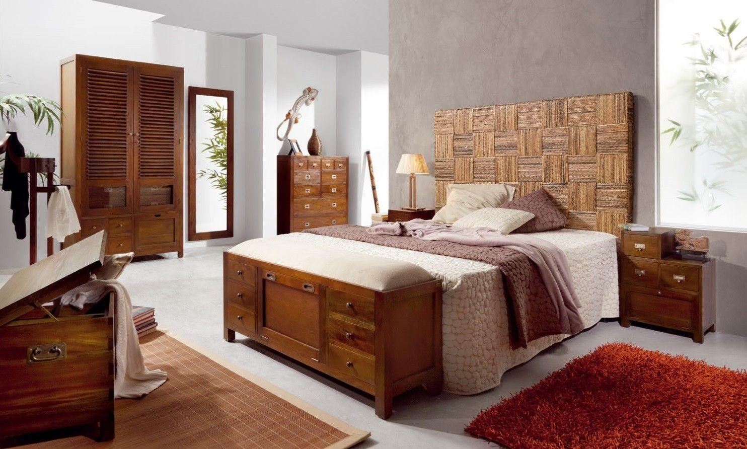 Estilo colonial todas las claves para convertirte en una - Habitacion estilo zen ...