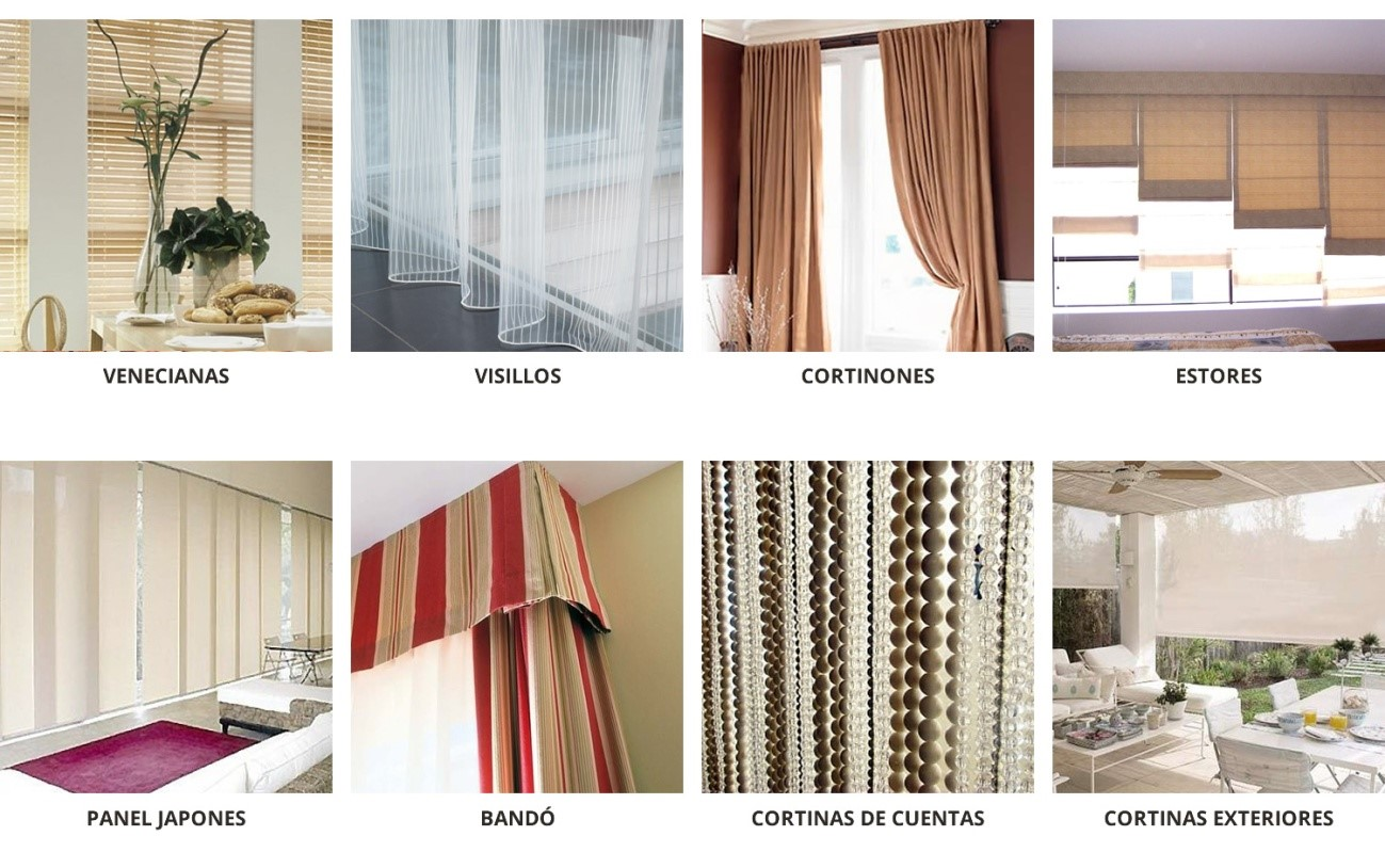 Comprar cortinas online desde 15 99 casaytextil - Cortinas para salon estilo moderno ...