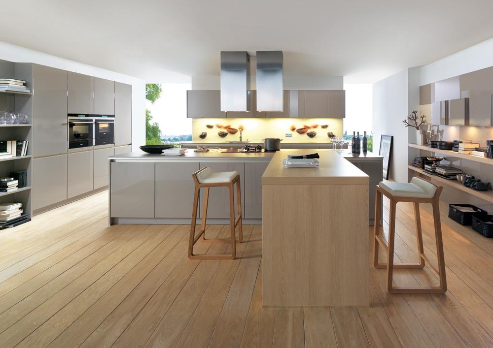 C mo decorar una cocina moderna todo lo que debes saber - Suelos porcelanicos para cocinas ...