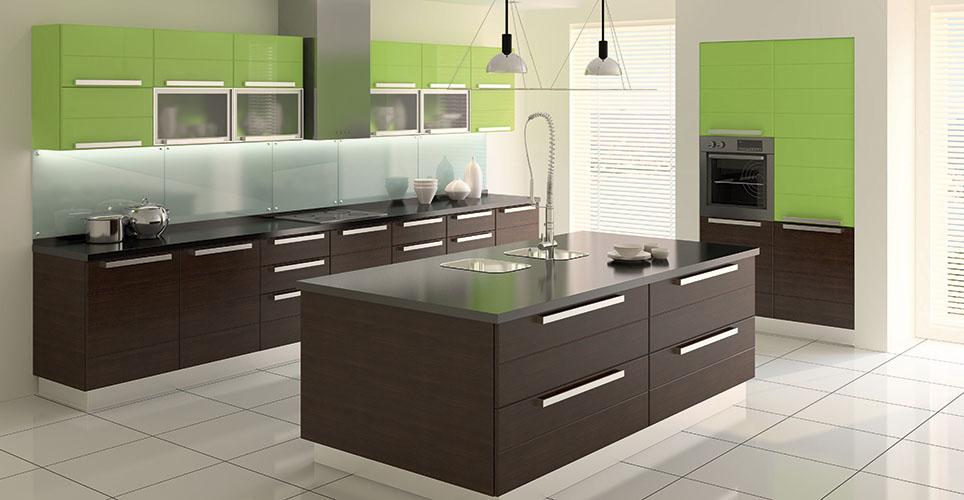 C mo decorar una cocina moderna todo lo que debes saber for Como amueblar mi cocina