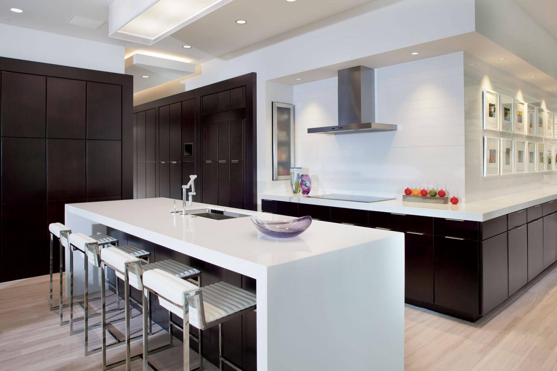 C mo decorar una cocina moderna todo lo que debes saber for Cocinas tipo americano modernas