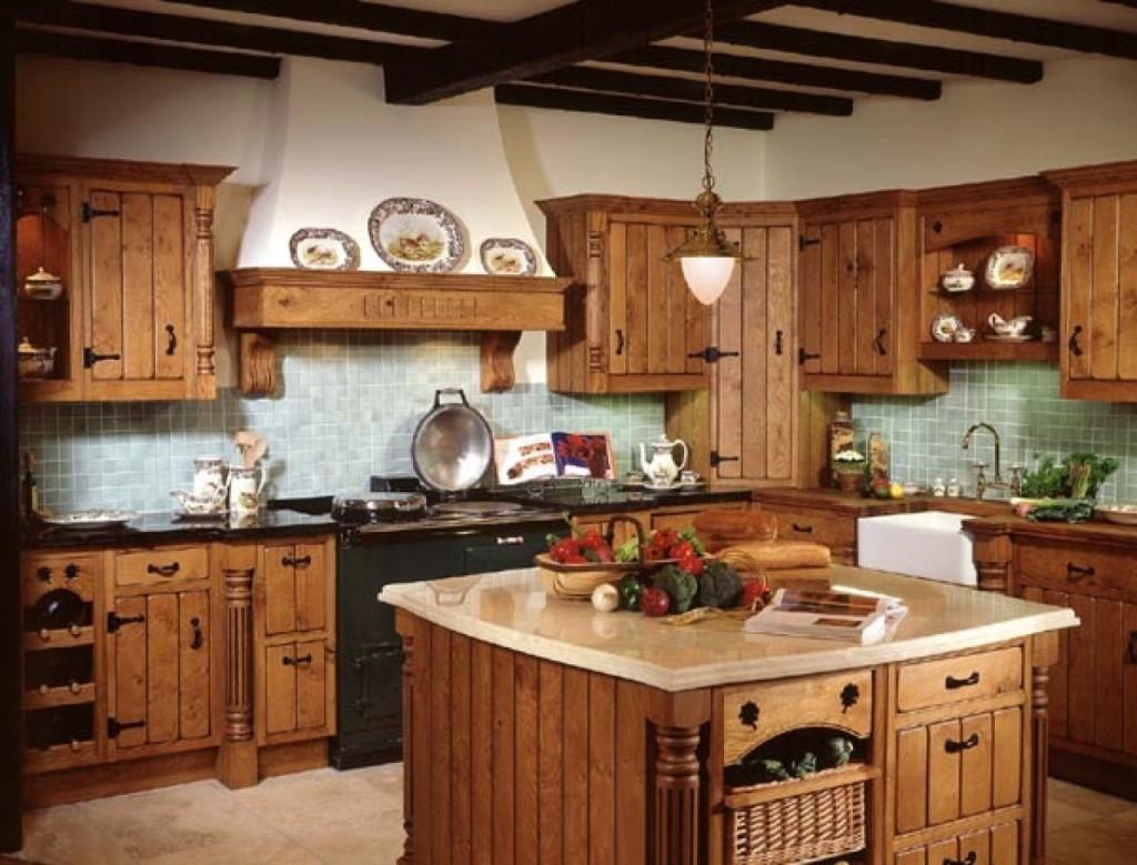 Cómo decorar una cocina de estilo rústico