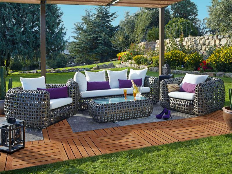 C mo decorar tu terraza y ser la envidia de tus vecinos - Como decorar una terraza grande ...