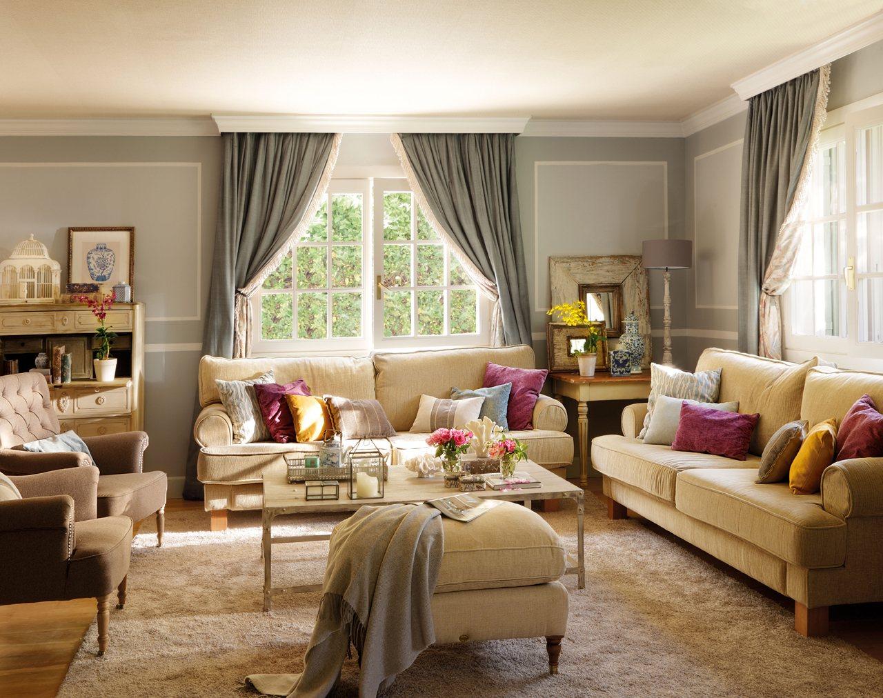 Tips para decorar salones modernos y pequeños